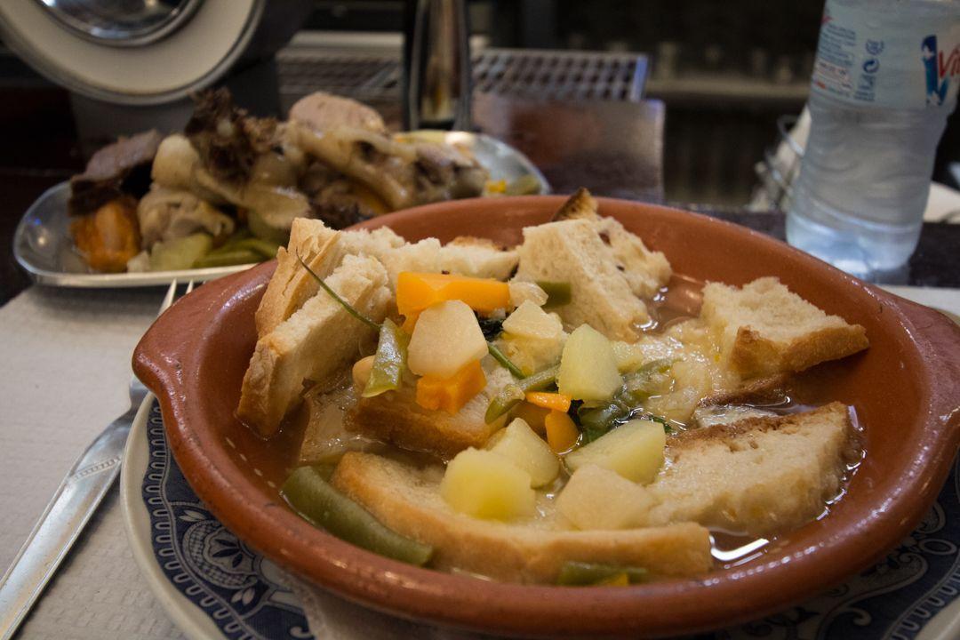 Dinner in Evora. Portugalholidays4u.com