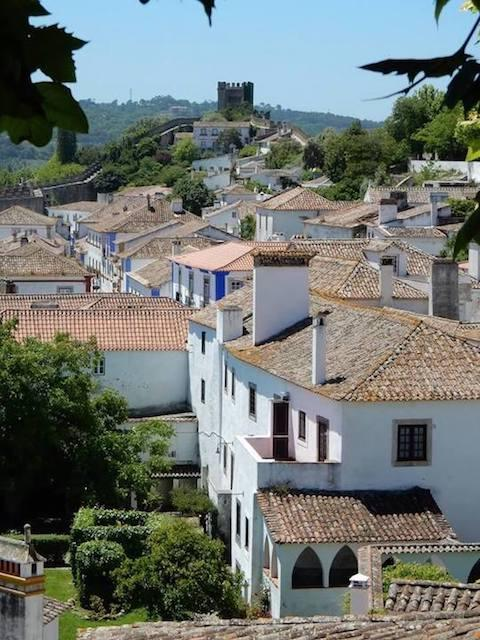 overview-of-obidos-portugal