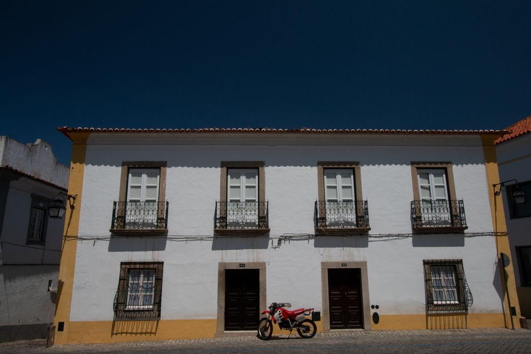 Evora motorbike. Portugalholidays4u.com