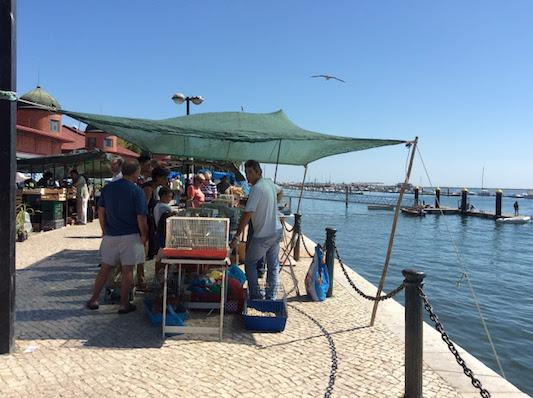Olhao market Algarve. portugalholidays4u.com