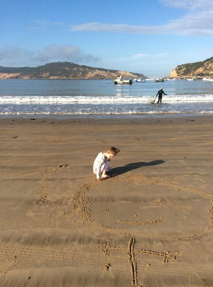 Sao Martinho do Porto beach. Portugalholidays4u.com