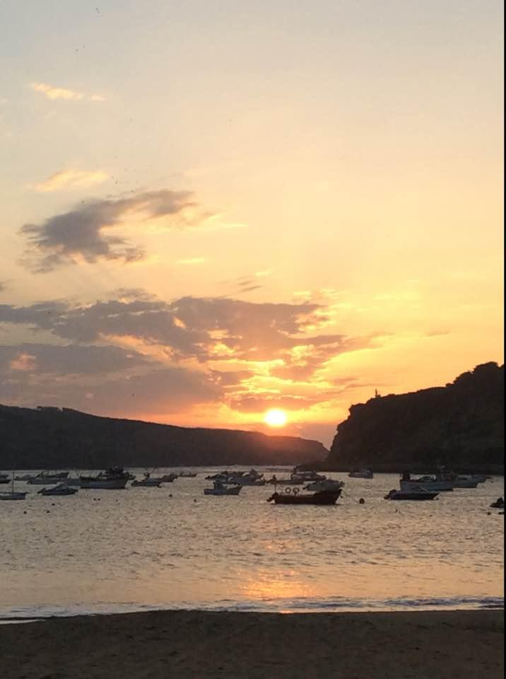 Sao Martinho do Porto sunset. Portugalholidays4u.com