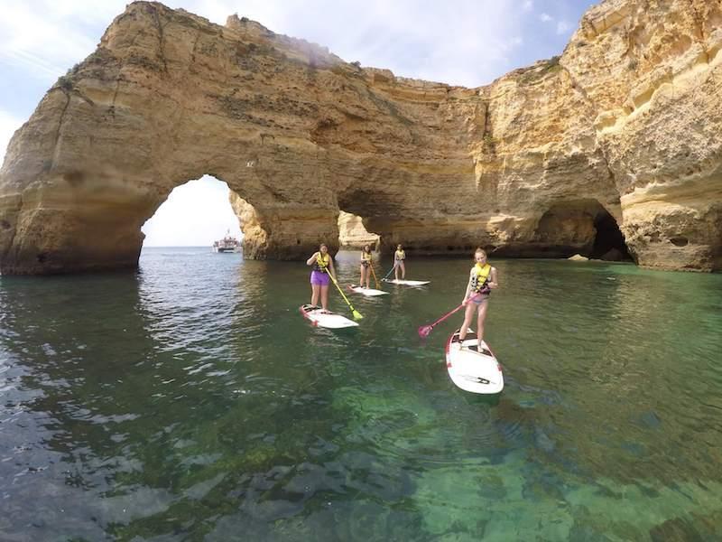 SUP-Benagil-Cave-algarve
