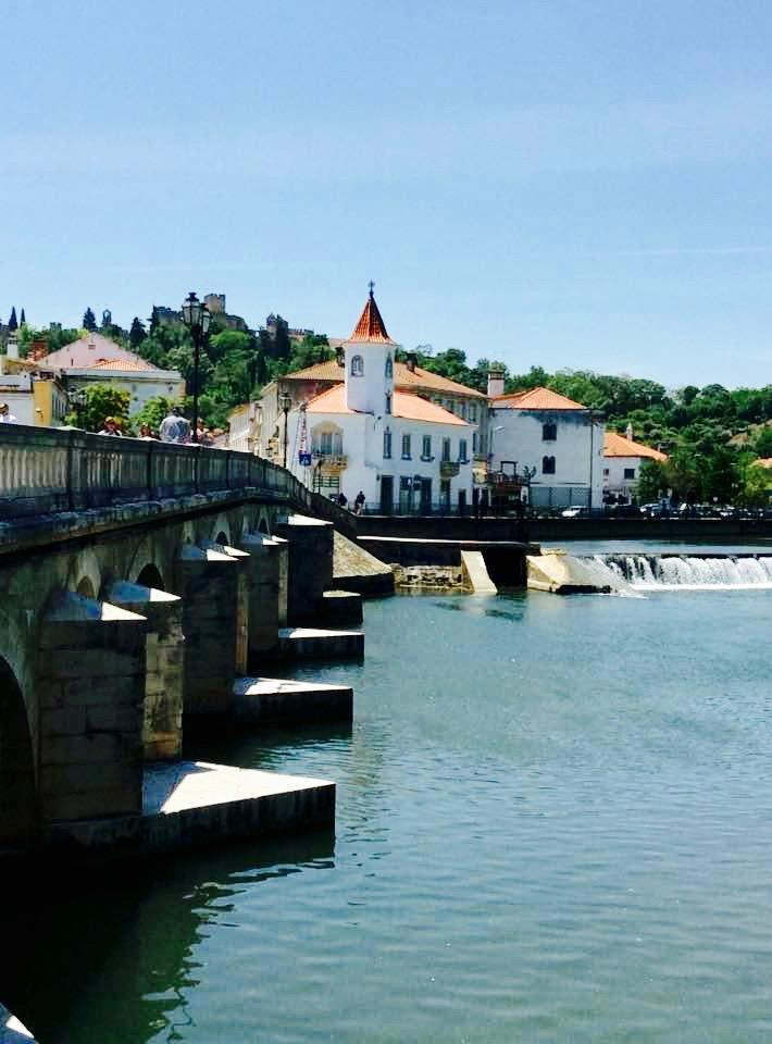 Tomar-central-portugal/river-nabao-Tomar