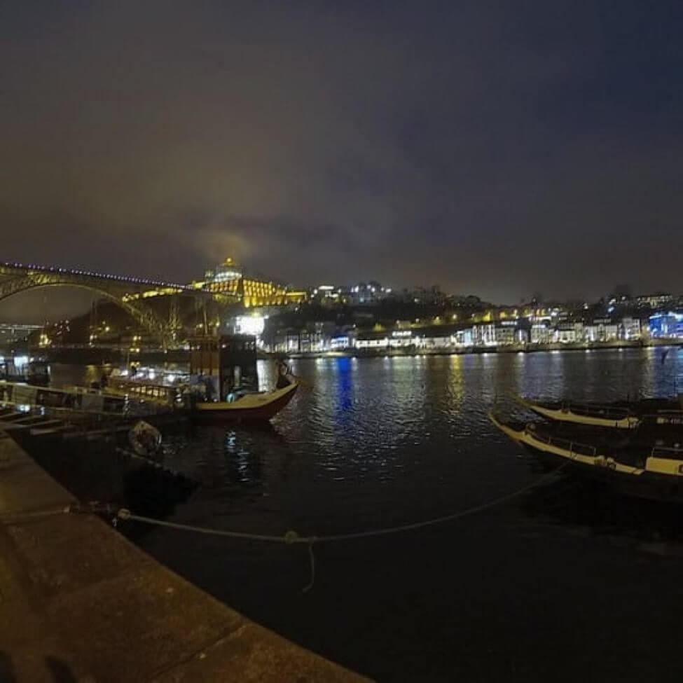 porto-harbour-night
