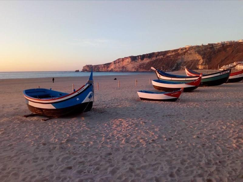 Nazaré-Fishing-boats-silver-coast-portugal